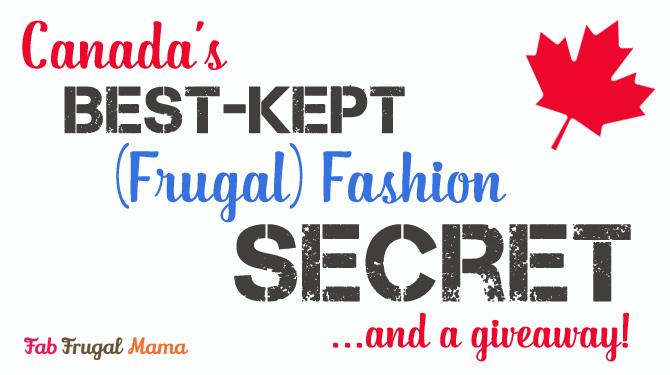Canada's Best Kept Frugal Fashion Secret {+ Giveaway}