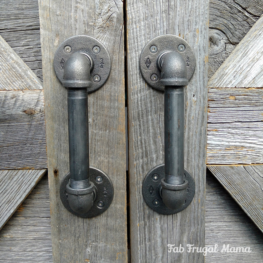 Diy Door Handles Under 30 Fab Frugal Mama