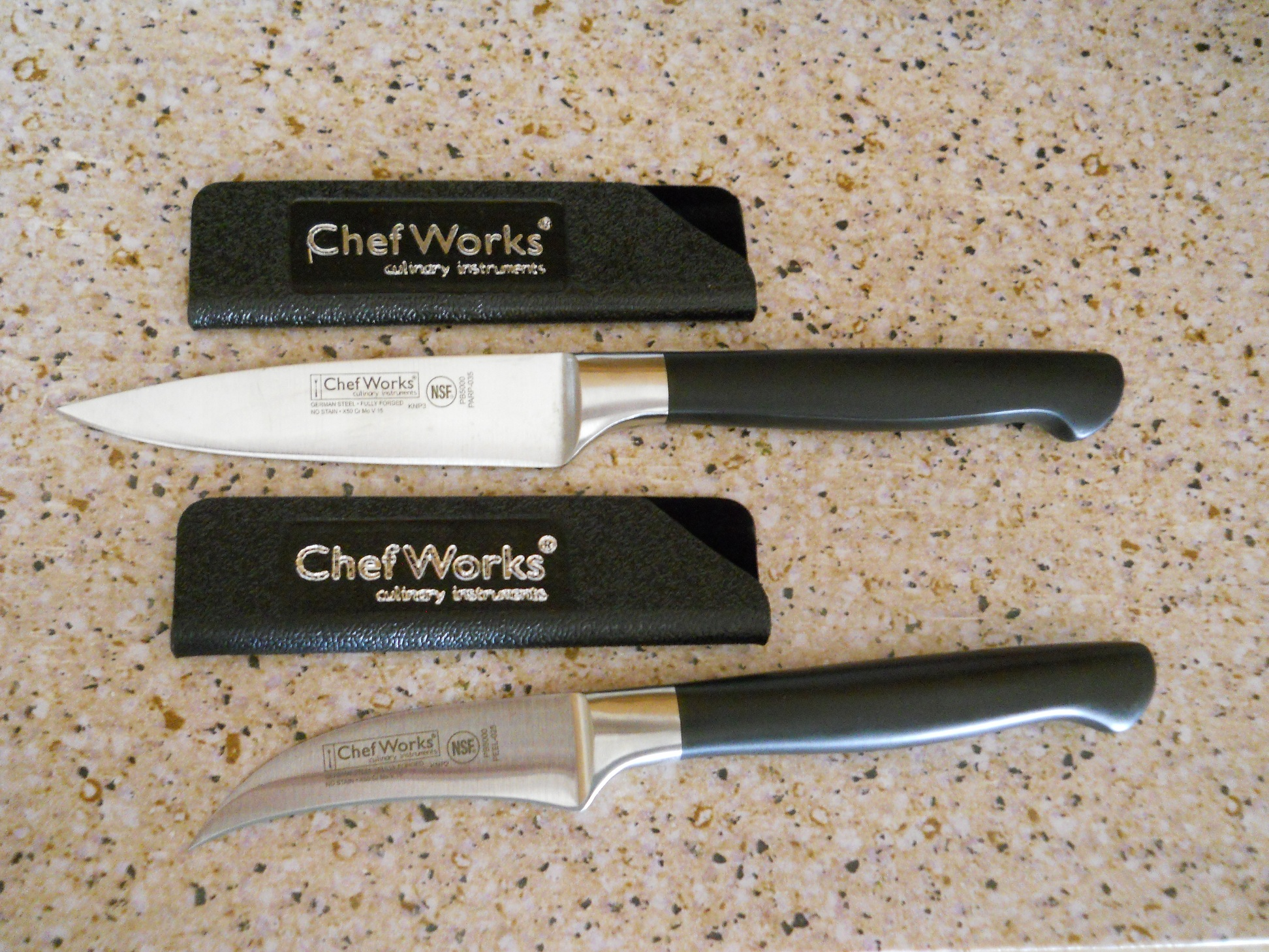 Review Kitchen Knives