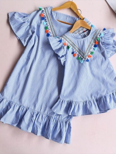 Matching Blue Dress for Mommy n Me