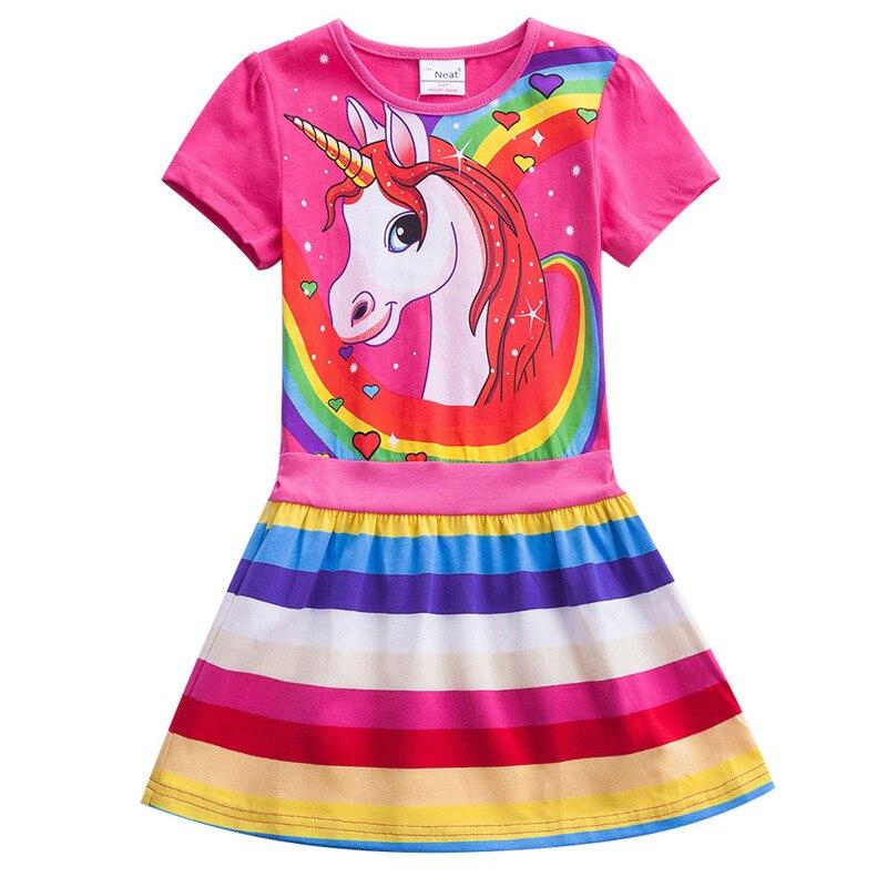 Unicorn Theme Summer Dress