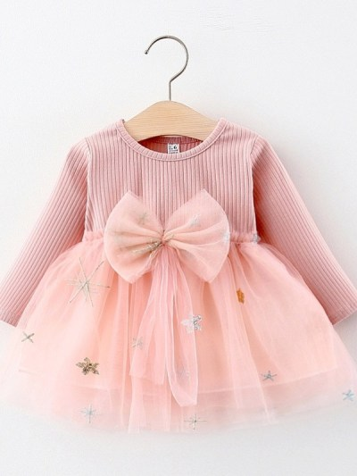 Big Bow Dress for Girls