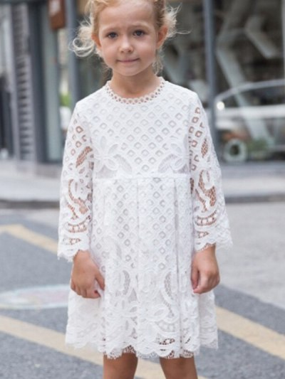 Family Matching Outfit Mother and Daughter Vintage Lace Dresses