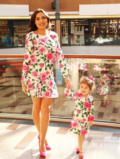 Floral Family Match Dress