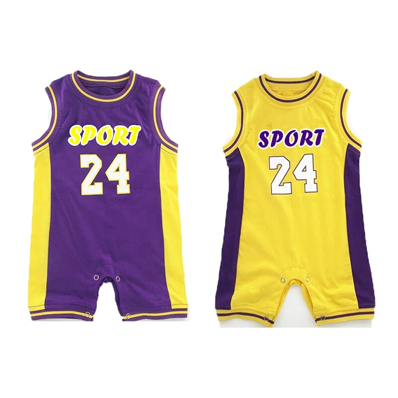 Basketball Twin Brothers Bodysuit for Kids