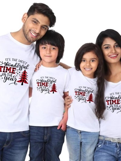 It's The Most Wonderful Time of The Year Print Christmas Tees
