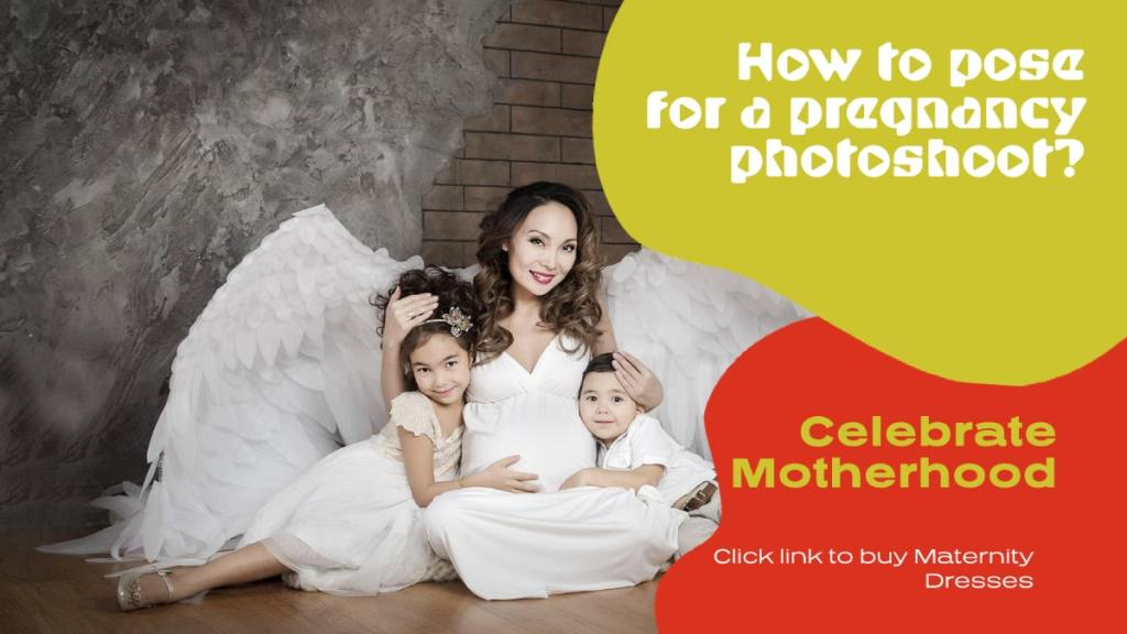 how to pose for maternity photoshoot