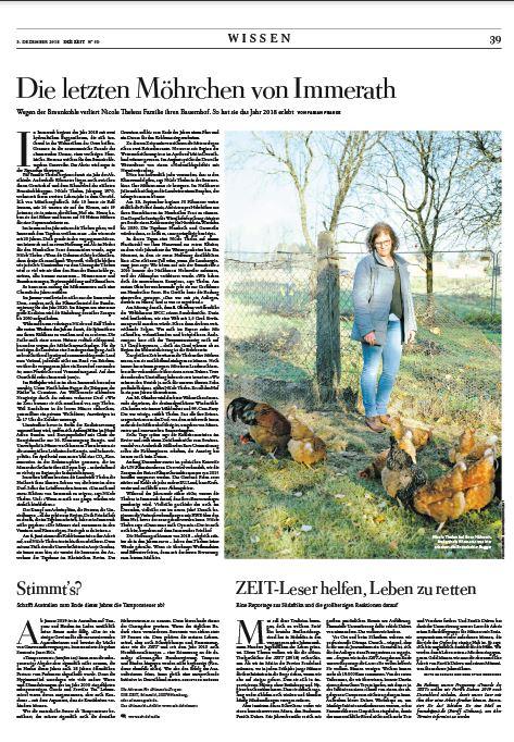 Fabian Franke Journalist DIE ZEIT Immerath Braunkohle Tagebau
