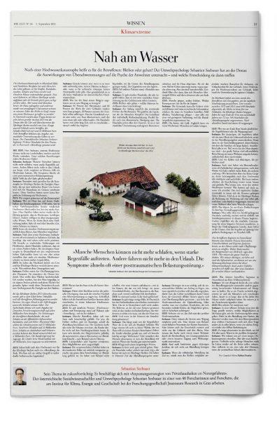 Fabian Franke Journalist Reporter DIE ZEIT Nah am Wasser Donau Absiedlung