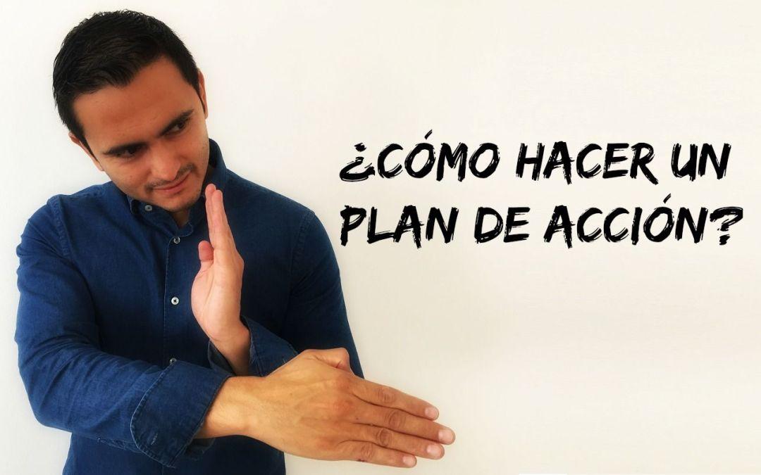 ¿Cómo crear un plan de acción?
