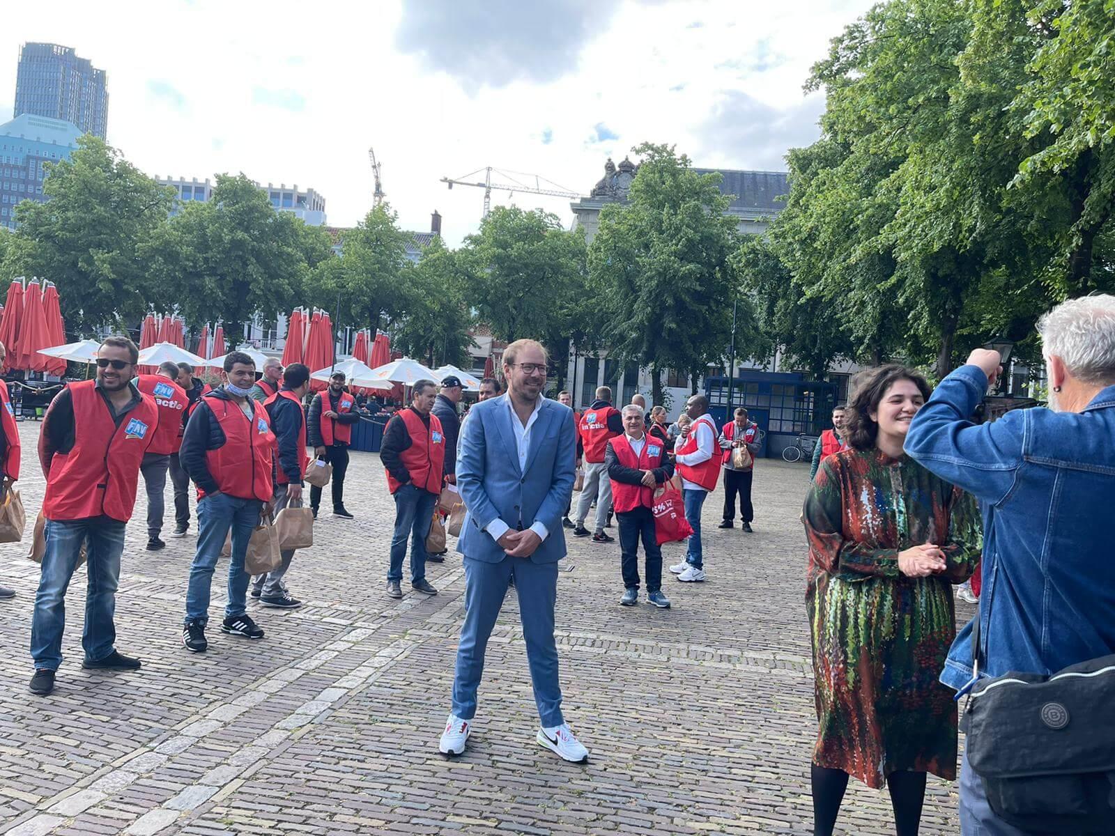 Stakende helden trekken naar politiek Den Haag.