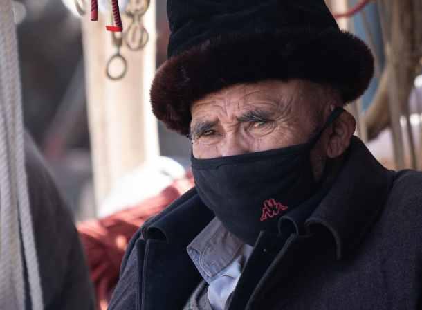 Kashgar old man China