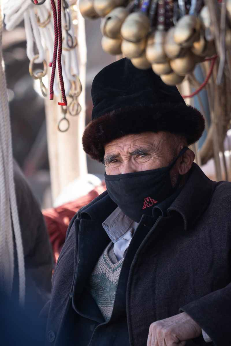 Kashgar old man China