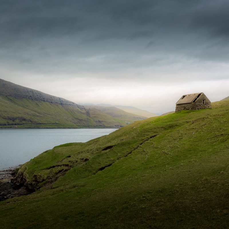 Fjord Faroe Islands