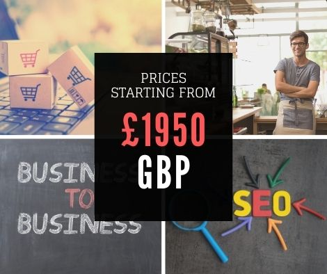 Our SEO service starting price