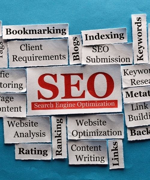 we are offering seo services like ecommerce seo, local seo and b2b seo