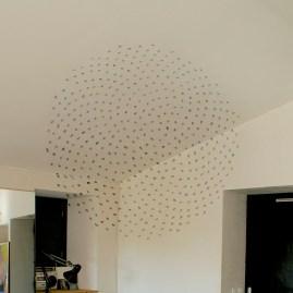 Anamorphose pour les plafonds et murs d'un séjour.