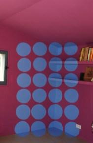 Les Galets Bleus - Anamorphose en chambre