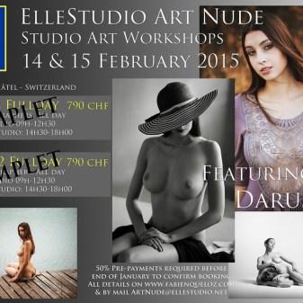 Art Nude workshops ElleStudio by fabien queloz, neuchâtel, suisse-Daruszka