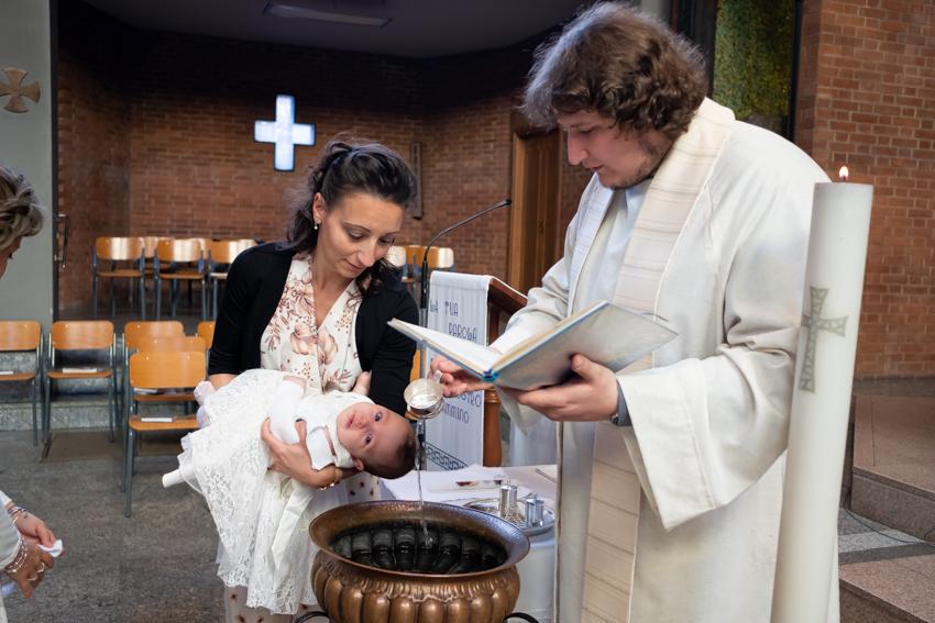 Servizio Battesimo di Fabio Arimatea