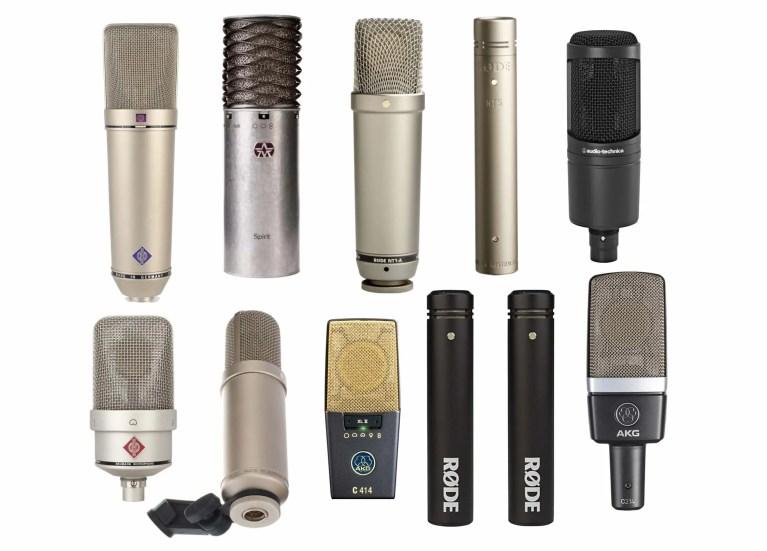 Microfono a condensatore: guida all'acquisto
