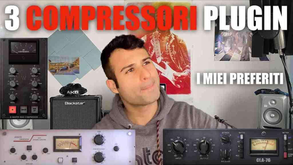 i miei 3 compressori plugin preferiti