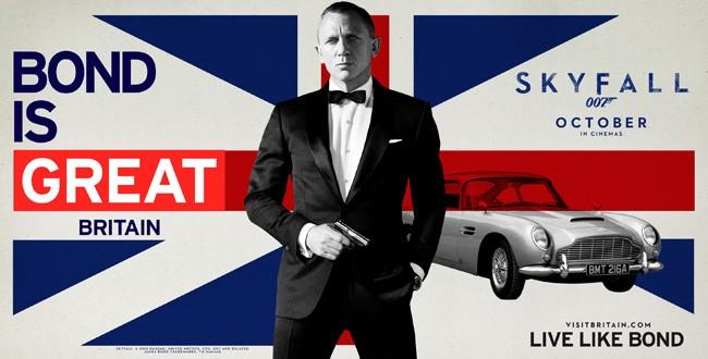 A volta de Bond