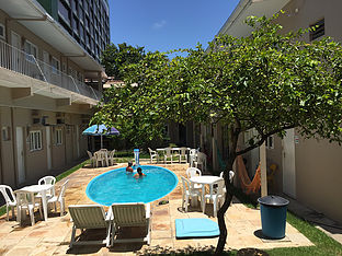Piscina do Maceió Hostel/Alagoas