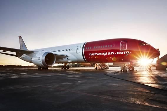 Norwegian faz primeiro voo low-cost entre Brasil e Reino Unido