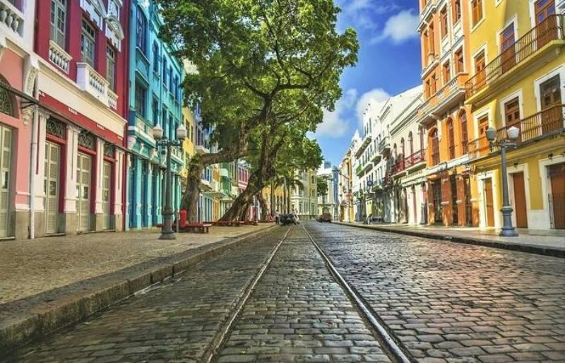 Rua de Recife é eleita como uma das mais bonitas do mundo