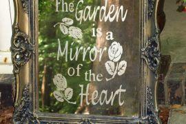 Espelho Meu No Jardim