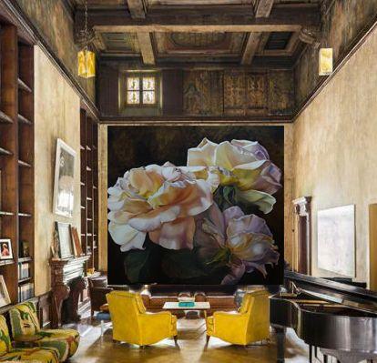 Papel de parede floral de Diana Watson