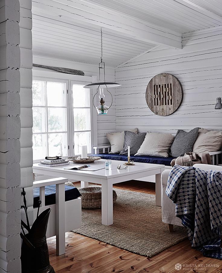 Cabana escandinava