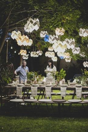 Uma mágica festa no jardim