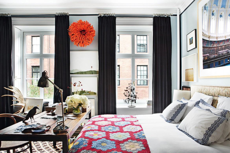Apartamento pequeno com decoração boho-chic