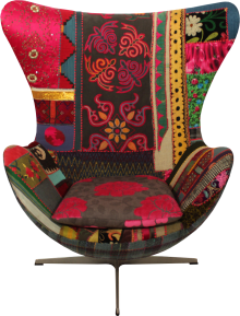 Bokja, design, Libano, tecidos vintage
