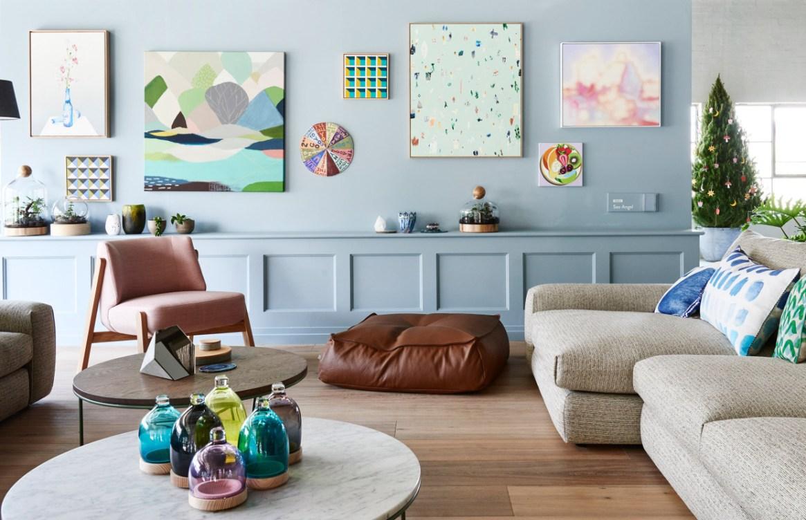 azul claro, combinações, decoração