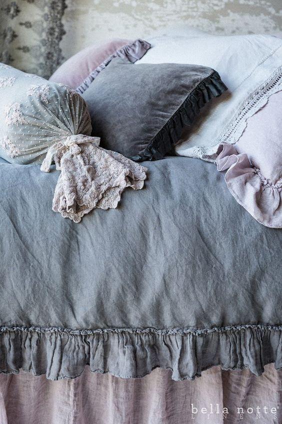 azul céu, decoração, roupa de cama
