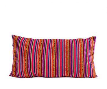 almofada tecido peruano