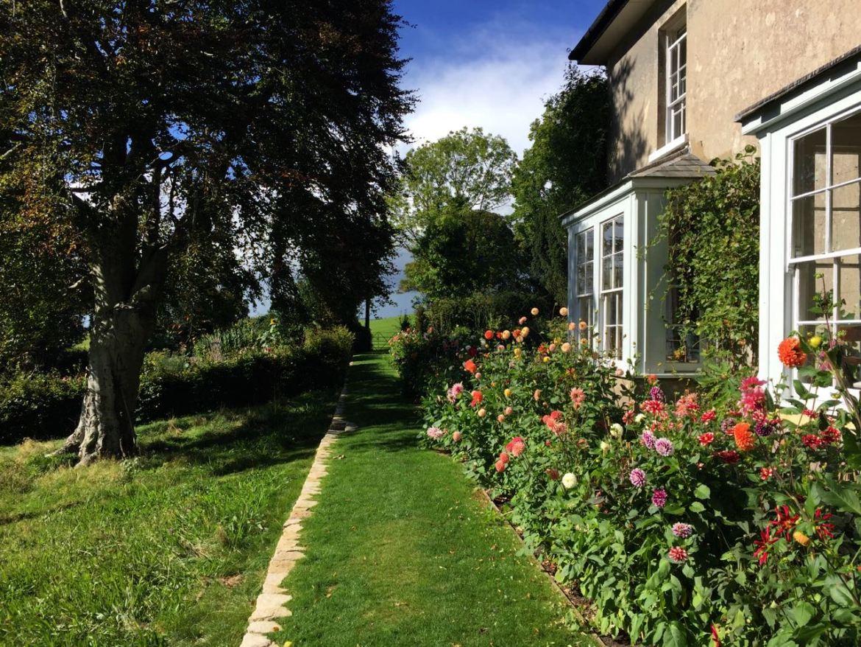Um jardim inglês dos sonhos