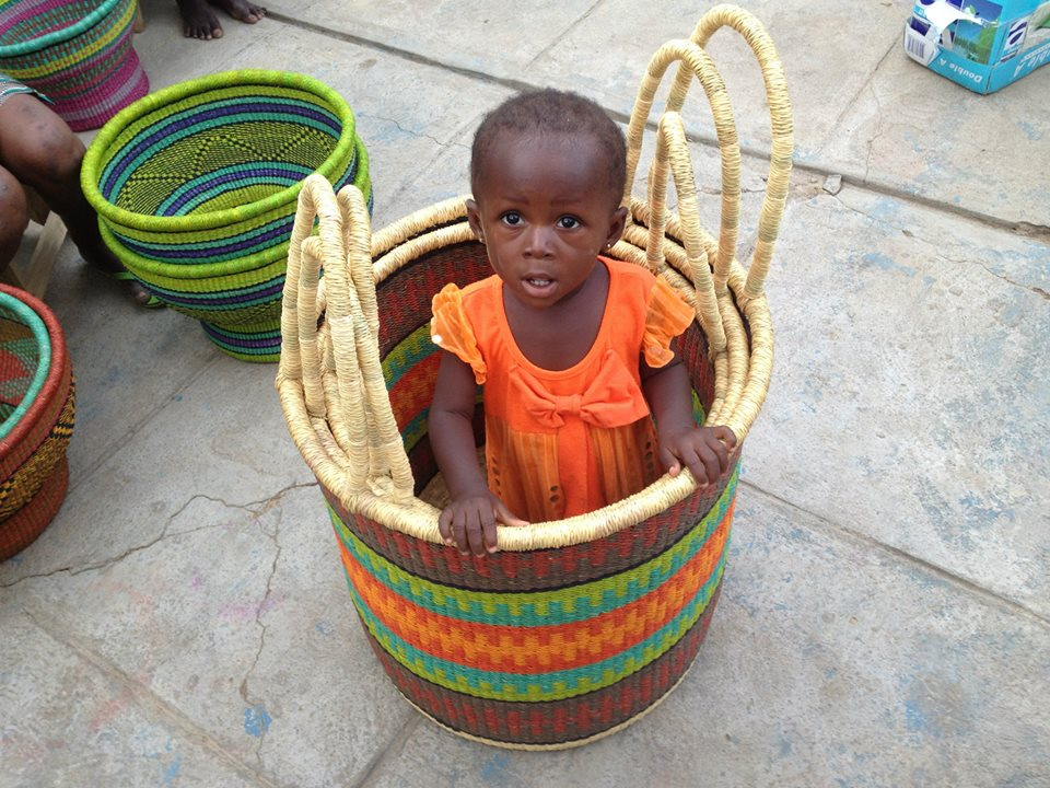 Baba Tree Baskets, Gana, Cestos Africanos, Trabalhos Manuais