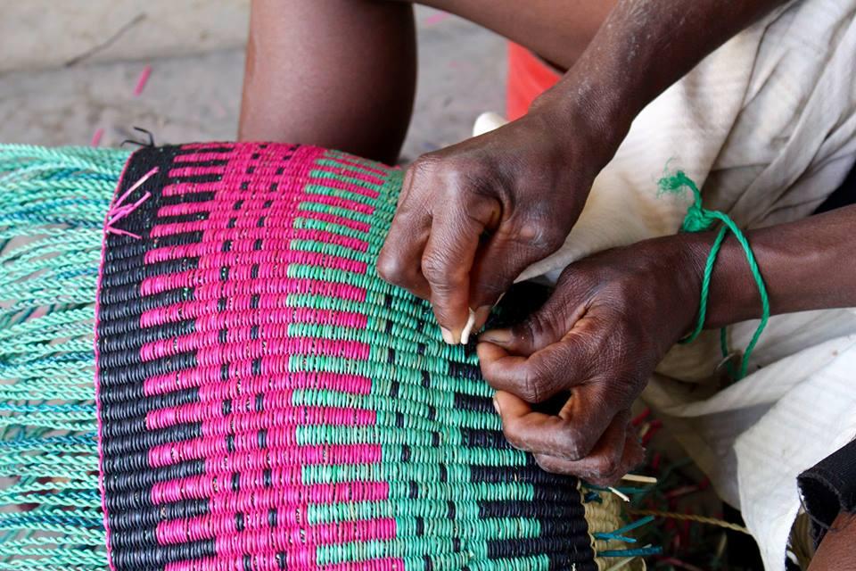 Baba Tree Baskets, Gana, Cestos Africanos, Handmade,