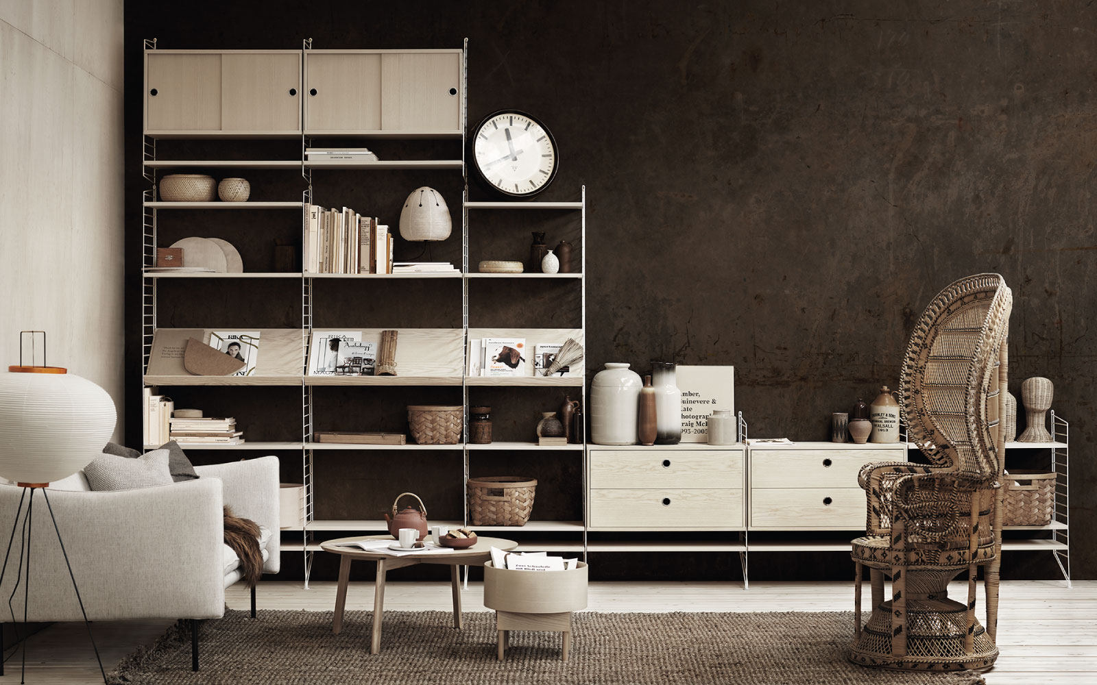 Design Escandinavo - Prateleiras String