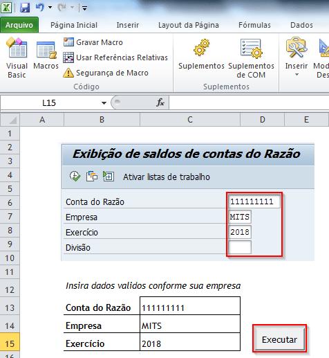 Sap Script & VBA – Conexão - Fabio Mitsueda