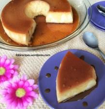 condensed milk pudding