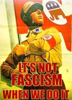 Fight fascism!