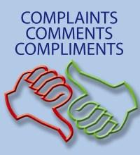 Complaints, Comments, and complements