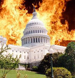 Congress on fire
