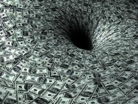 A Monetary Black Hole