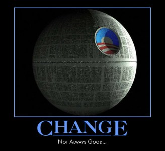 The Death Star brings change